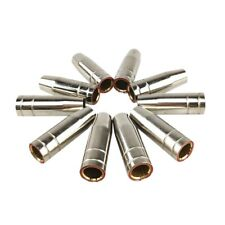15Ak Gas Nozzle 10Pcs Mig Welding Torch Gas Nozzle Contact Tip For Mig Mag H1I3