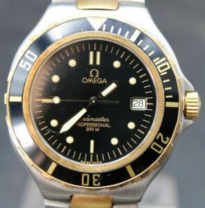 90's OMEGA SEAMASTER PROFESSIONAL 200m Ref 396.1062 Pre Bond Steel Quartz Diver