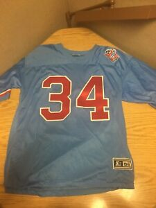 Rare 1997 Tennessee Oilers Earl Campbell Jersey XXL 52 Starter Houston Titans