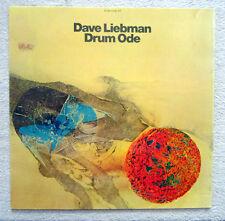LP / DAVE LIEBMAN / DRUM ODE / 1975 / RARITÄT /