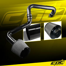 01-05 Honda Civic Automatic 1.7L Black Cold Air Intake + Stainless Steel Filter