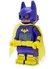 LEGO Batman Movie 9009334 Batgirl Kids Minifigure Alarm Clock | purple/yellow |