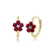 Heating Hoop Fine Earrings Butterfly