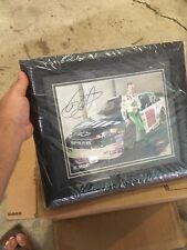 Framed Dale Earnhardt Jr Certified Autographed picture. Nice, Man Cave