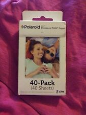 Polaroid 2x3 Inch Premium Zink Photo Paper - 40sheets / 40 pack New FREE SHIPPIN