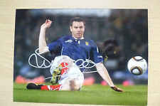 Signed Colour Pictures- STEPHEN McMANUS, Scottish Footballer (7x5inch