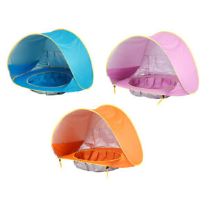 Outdoor Foldable Beach Tent Portable Sun Shade Shelter Pool for Kids Baby Toys