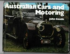 Australian Cars and Motoring Book John Goode