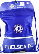 Chelsea Fc Gym Sack Bag Drawstring Backpack Cinch Bag Authentic Official New
