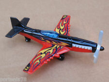 2014 Matchbox Skybusters STUNT PLANE Loose Black Red