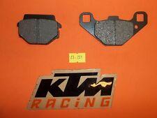 27-211 Emgo KTM FRONT/REAR Brake Pads BRAND NEW SET 67