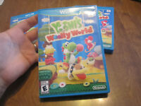 Yoshi's Woolly World Nintendo Wii U COMPLETE WORKS PERFECTLY EXCELLENT