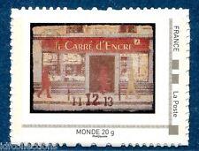 timbre issu du Collector carré d'encre 11/12/13 imprimé en très faible quantité