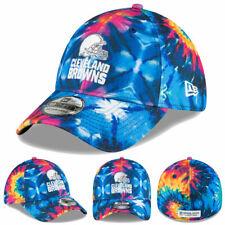 NEW 2020 Cleveland Browns New Era Men's NFL Crucial Catch Hat Cap 39THIRTY Flex