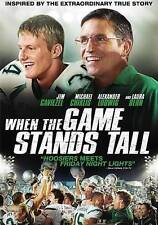 When the Game Stands Tall DVD Fast Free Shipping - FOOTBALL MOVIE