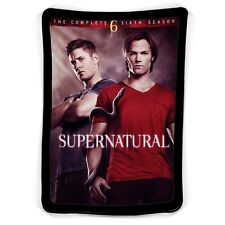 Supernatural The New Season Blanket ( KIDS / MEDIUM / LARGE )