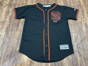 Madison Bumgarner San Francisco Giants Majestic MLB Jersey – Youth Medium