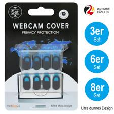 Kamera Abdeckung Webcam Cover PC Computer Laptop Notebook Handy Schutz Schwarz
