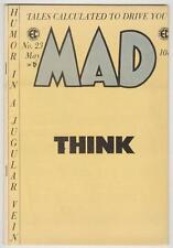 Mad #23 May 1955 VF Think!