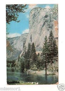 El Capitan Yosemite Valley California 1960's Vintage postcard