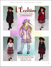 """""""L'Écolière"""" Fashion Pattern for 14"""" Kish Chrysalis"""
