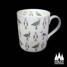 B: Birds, Seagull, Seaside, Fine bone China  Mug Gift: By Foley Pottery
