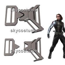 Captain America 2 : The Winter Soldier Bucky Barnes Metal Belt Buckle