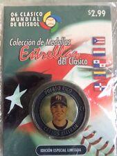 MEDALLA CLASICO MUNDIAL DE BEISBOL 2006 CARLOS BELTRAN PUERTO RICO