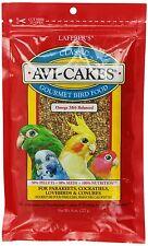 Lafeber's® Avi-Cakes Parakeet & Cockatiel Bird Food net weight 8 oz
