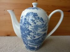 Wedgwood Countryside Coffee pot nice condition made in England early 60's