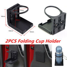 2PCS Universal Plastic Folding Cup Drink Holder Car Truck Boat RV with Mounts