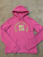 Women's Pink HOLLISTER Hoodie/ Pull Over/ Jumper SIZE S