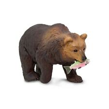 Grizzly Bear Wild Safari Animal Figure Safari Ltd NEW Toys Educational