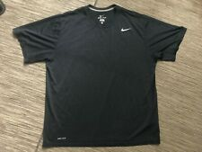 Nike Adult Mens Xl Dri Fit Legend Crewneck Tee Shirt Blue 371642 475