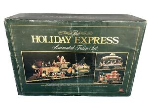 New Bright 1997 The Holiday Express Animated Train Set 380 G Scale Minty