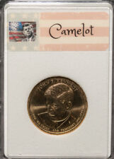Exclusive Kennedy New Generation Era Camelot Collectible Gold $1 Gift Coin *T3