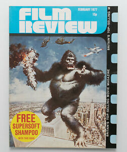 Film Review magazine February 1977 King Kong movie poster cover