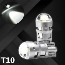 2x T10 194 168 W5W 3535-SMD LED Bulb License Plate Light Width Lamp White 6000K
