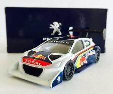HOTWHEELS / PEUGEOT OFFICIAL LICENSE DIECAST CAR - PEUGEOT 208 T16 PIKES PEAK