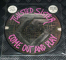 Twisted Sister 'Come Out & Play' LTD Edn UK '86 ORG Pic LP Picture Disc Rare OOP