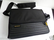 Mandarina Duck Tank Messenger Laptop Bag with case Black
