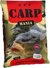 1kg=2,18€ Carp Mania Vanille Karpfen Lockfutter 2,5 kg