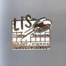 RARE PINS PIN'S .. SPORT VOLLEY BALL TEAM CLUB LIS ST PIERRE CALAIS 62 ~BD