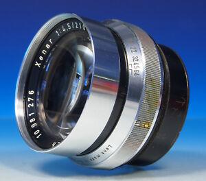 Schneider Kreuznach Xenar 4.5/210mm Objektiv lens objectif - (43531)