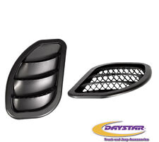 Daystar® Hood Air Vents - Black fits 2007-2016 Jeep Wrangler JK JKU KJ71048BK
