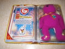 Ty Beanie Baby Millennium  Bear  VERY RARE-In Box/New