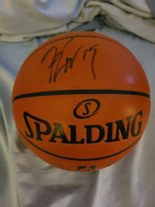 Kemba Walker Autographed Basketball Spalding Game Ball Series