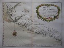 1764 - BELLIN - Map SIERRA LEONE LIBERIA nice cartouche