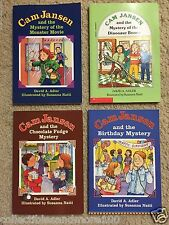CAM JANSEN- Lot of 4 Chapter Books by David A. Adler