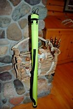 NEW WHIP CASE IN LIME GREEN SADDLE SEAT DRESSAGE SADDLEBRED ARAB FRIESIANS